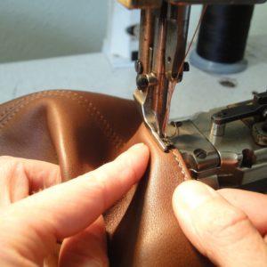 couture sac en cuir
