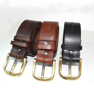ceintures Gaya cuir