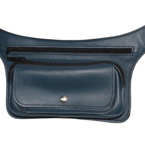 pochette ceinture en cuir