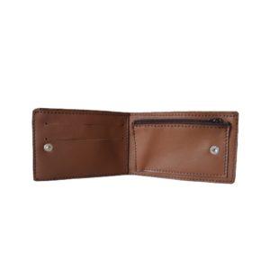 Porte monnaie artisanal en cuir